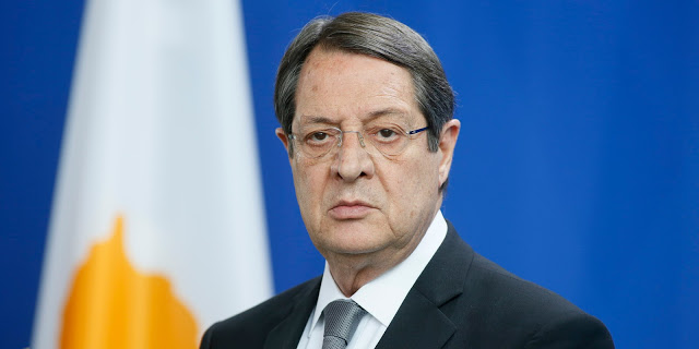 Ευχές από τον Πρόεδρο της Κυπριακής Δημοκρατίας, Νίκο Αναστασιάδη