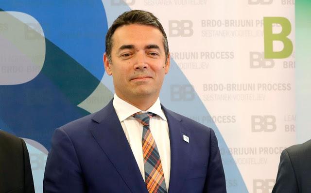 Ντιμιτρόφ: Είμαστε Μακεδόνες, μέλη του Μακεδονικού λαού – Το αναγνωρίζει η Συμφωνία των Πρεσπών
