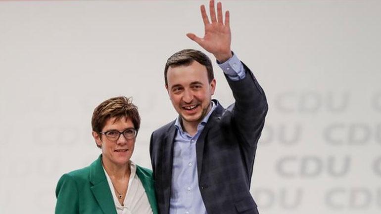Ο Πάουλ Τσίμιακ εξελέγη Γενικός Γραμματέας του CDU