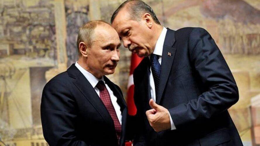 Συνάντηση Ερντογάν – Πούτιν για την αποχώρηση των ΗΠΑ από την Συρία