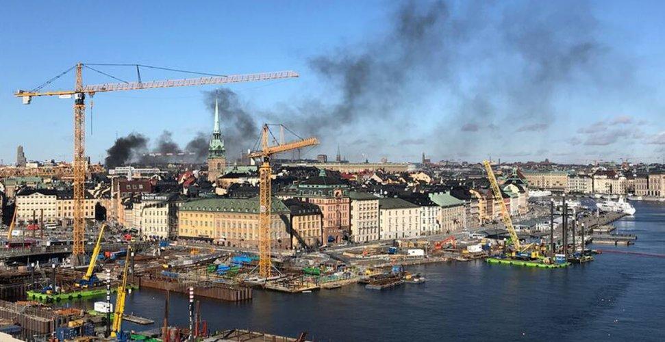Τουλάχιστον πέντε τραυματίες από ισχυρή έκρηξη σε περιοχή της Στοκχόλμης