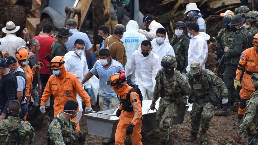 Κολομβία: 33 νεκροί στην κατολίσθηση που έπληξε αγροτική περιοχή στην επαρχία Κάουκα