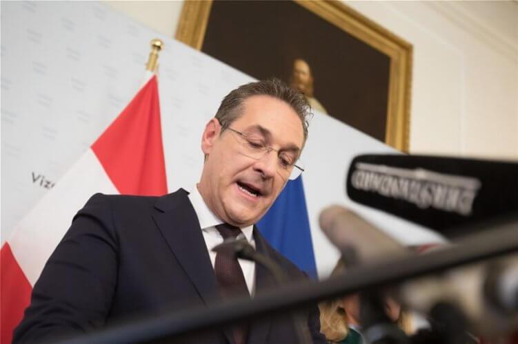 Παραιτήθηκε ο αντικαγκελάριος της Αυστρίας Στράχε μετά τη δημοσίευση του βίντεο
