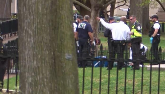 Άνδρας αυτοπυρπολήθηκε κοντά στον Λευκό Οίκο