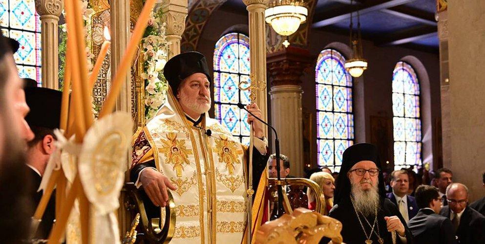 Με παρουσία πλήθους πιστών έγινε η ενθρόνιση του νέου Αρχιεπισκόπου Αμερικής Ελπιδοφόρου