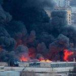 Ένας νεκρός και 13 τραυματίες από την πυρκαγιά σε θερμοηλεκτρικό σταθμό σε προάστιο της Μόσχας