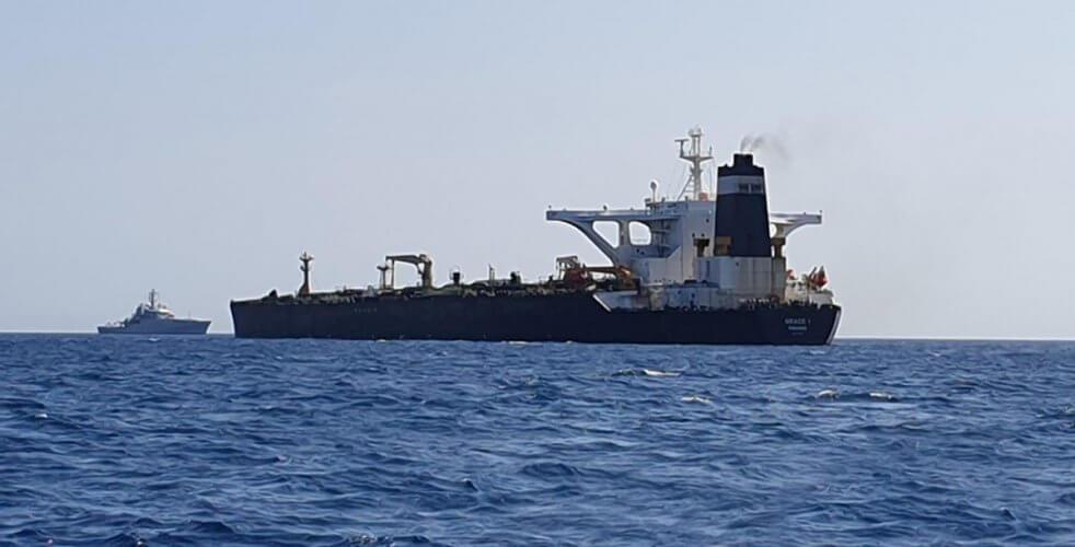 Εγκατέλειψε το Γιβραλτάρ και πλέει σε διεθνή ύδατα το δεξαμενόπλοιο του Ιράν