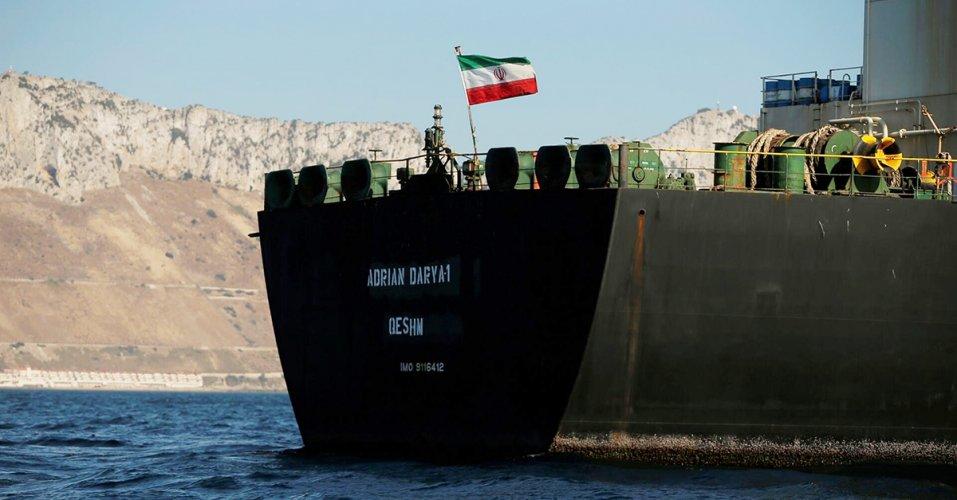 Το ιρανικό δεξαμενόπλοιο δημιουργεί απειλές από τις ΗΠΑ