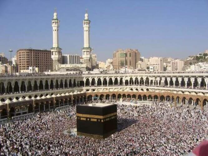 Περισσότεροι από δύο εκατομμύρια μουσουλμάνοι αρχίζουν το προσκύνημα στη Μέκκα
