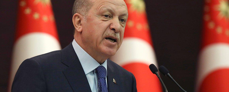 Ερντογάν: Η Ουάσινγκτον «υποστηρίζει τους τρομοκράτες»