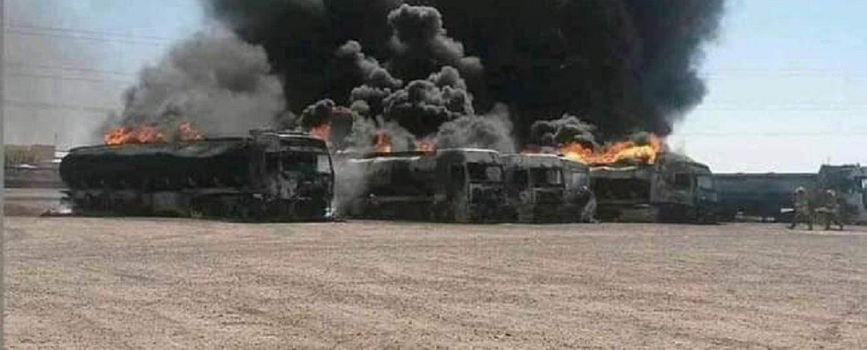 Πύρινη λαίλαπα με βυτιοφόρα καυσίμων στα σύνορα Ιράν – Αφγανιστάν