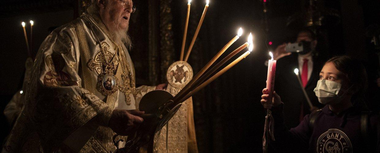 Οικουμενικός Πατριάρχης: Ως διάβαση βιώνουμε το Πάσχα και εφέτος- Διάβαση, πέρα και από τα δεινά της πανδημίας