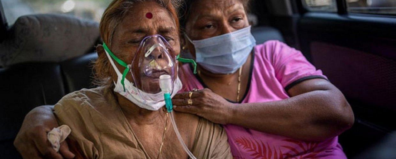 Στα 20 εκατομμύρια τα κρούσματα στην Ινδία – Μόλις το 9% έχει εμβολιαστεί