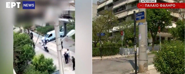 Παλαιό Φάληρο – Ένοπλη ληστεία σε σούπερ μάρκετ: Αποκλειστικά πλάνα από τη στιγμή της σύλληψης του δράστη