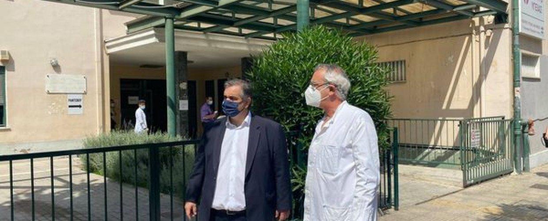Ενίσχυση σε προσωπικό και 24ωρη λειτουργία του Κ.Υ. Καλλιθέας ζήτησε ο Βουλευτής Β. Σπανάκης