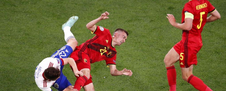 Με πρωταγωνιστή τον Λουκάκου το Βέλγιο άνετα 3-0 τη Ρωσία