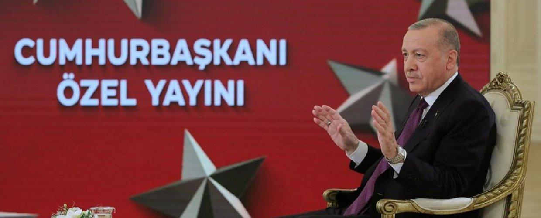 Τουρκία: Τηλεοπτική συνέντευξη  Ερντογάν εφ όλης της ύλης – Αγκάθι οι σχέσεις με τις ΗΠΑ (video)