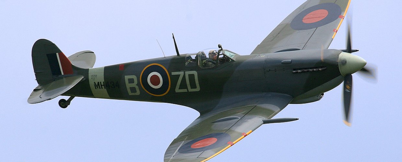 Spitfire: Το αεροπλάνο του Β΄ Παγκοσμίου Πολέμου στον ελληνικό ουρανό