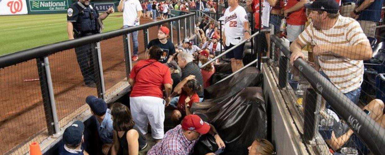 Ουάσινγκτον: Πυρά έξω από στάδιο μπέιζμπολ – Τρεις τραυματίες
